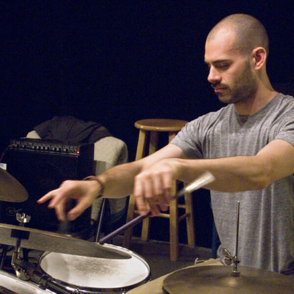 Dan Weiss, drums