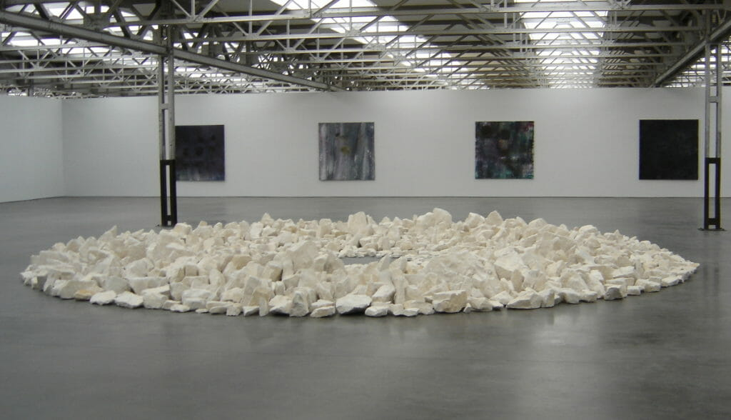 Richard Long, 1991, Planet Circle, museum De Pont