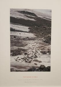 Richard Long, 2012, Throwing Stones, De Pont, 2019