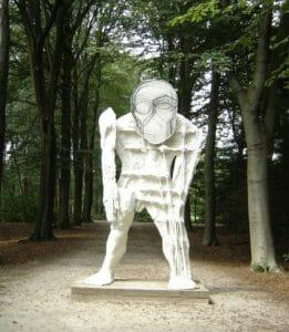 Thomas Houseago, Giant, giant (2010), Lustwarande 2011, Raw