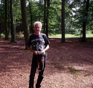 Harrie Baken in het Bos, 2004, Oude Warande, Tilburg, foto Marja van der Pasch