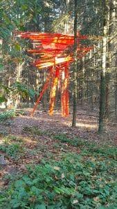 Arne Quinze, Red Stilthouse, Myhome Myhouse (2012) Lustwarande 2015, Tilburg