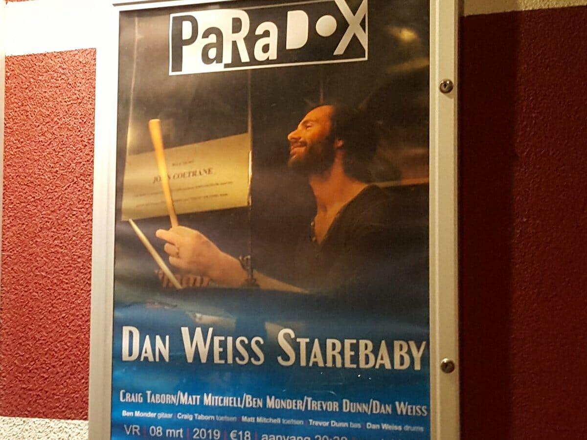 Affiche voor Dan Weiss Starebaby in PaRaDoX