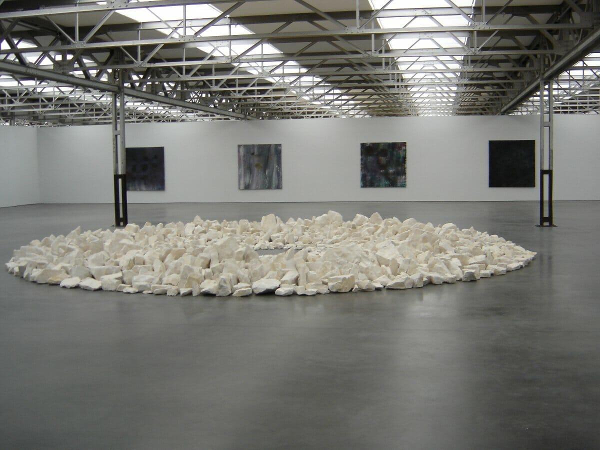 Richard Long 1991 Planet Circle, museum De Pont