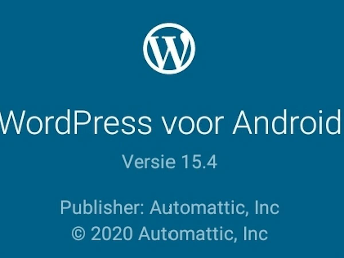 WordPress-app voor Android