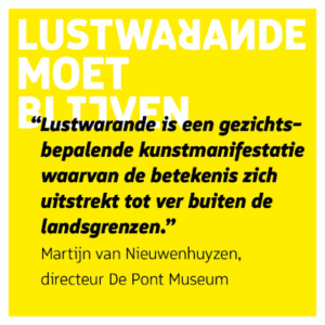 Martijn van Nieuwenhuyzen, Steunbetuiging LW is van internationale betekenis