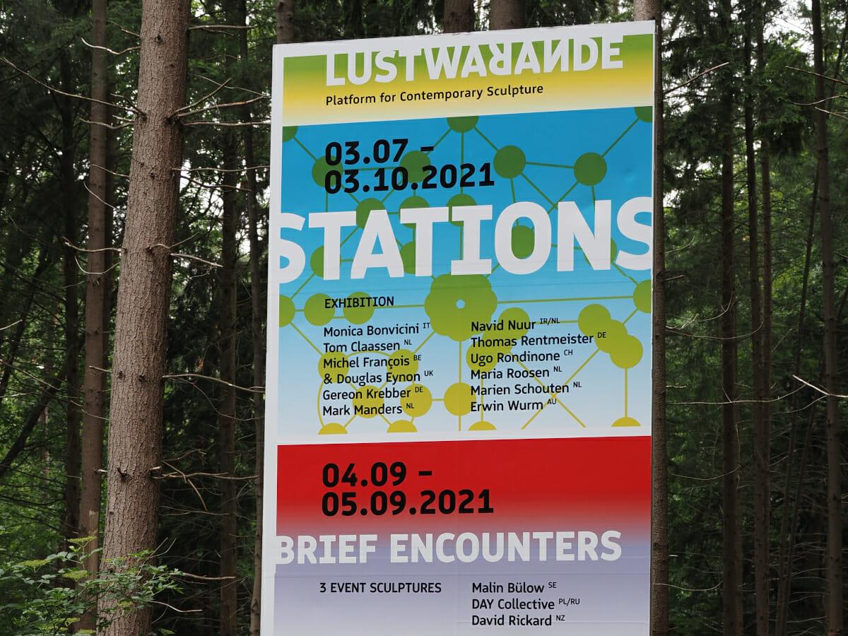 Lustwarande 2021 STATIONS, Tilburg